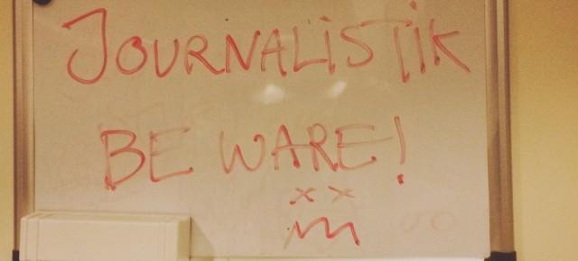 Teaching journalism at University of Greenland