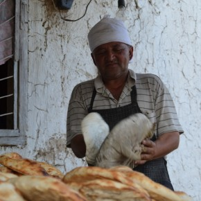 Bageren i Arslanbob