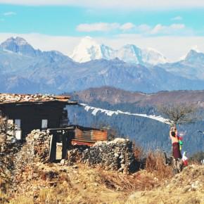 Bhutanesisk morgen-tv