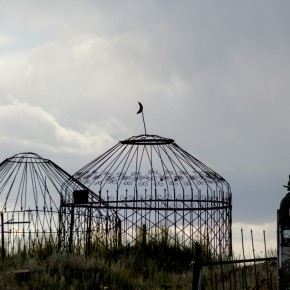 Kirgisiske kirkegårde